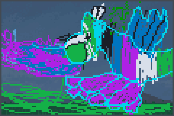 dragooooon Pixel Art