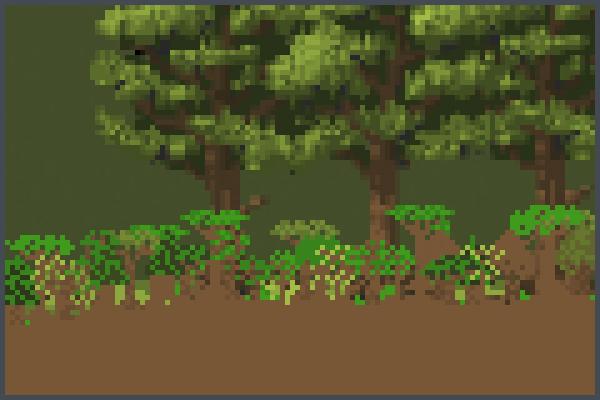 Forest sandbox! Pixel Art