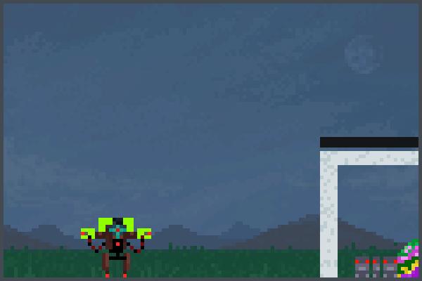 Mech Hero 2 Pixel Art