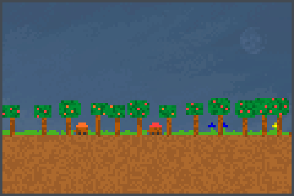 Team trees      Pixel Art