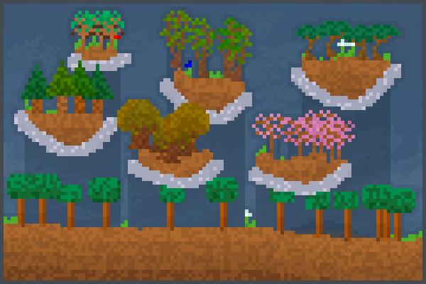 team trees 2 Pixel Art