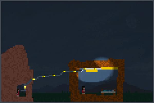 le levier elect Pixel Art