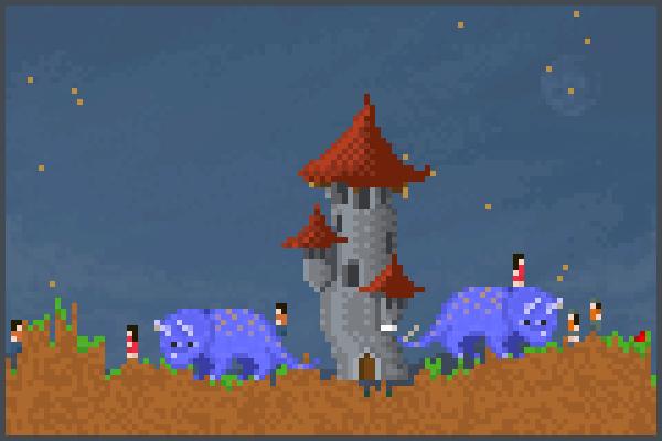 nina1 Pixel Art