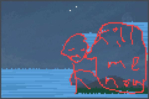 floods be like. Pixel Art