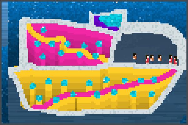 First Crouse Pixel Art
