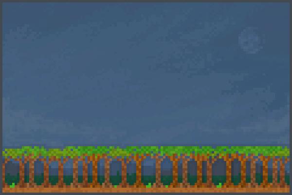 A Big Jungle Pixel Art