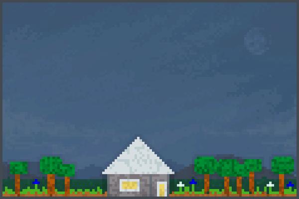 Cute cottage Pixel Art