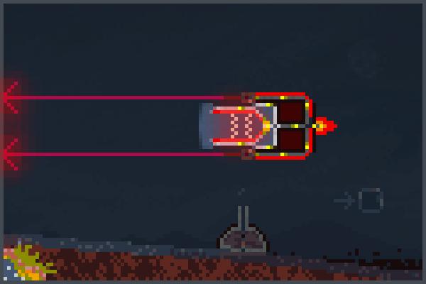 explosive cargo Pixel Art