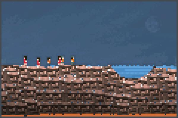 Totem world. ya Pixel Art