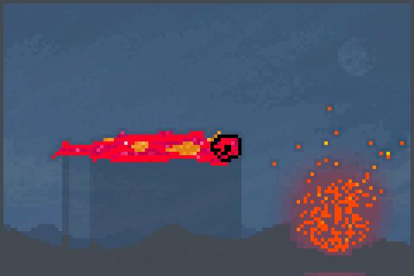 Fire Punch 1112 Pixel Art