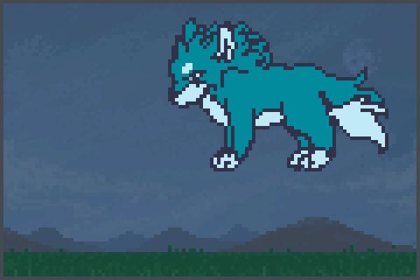 wolfooo to rp Pixel Art