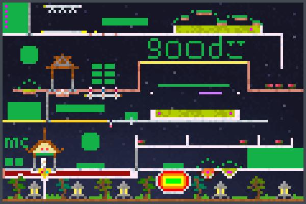 a good game 123 Pixel Art