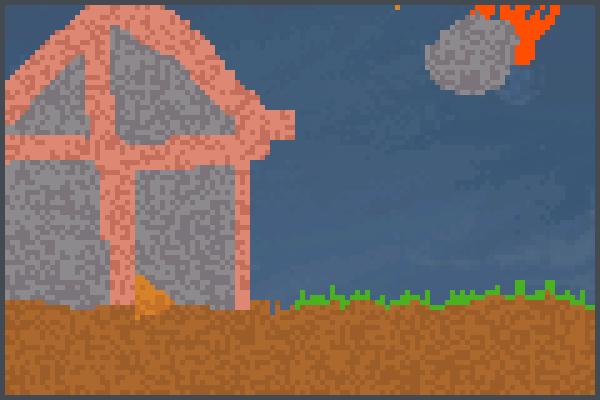 a casa indestru Pixel Art