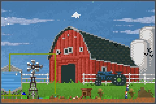 granja 1 Pixel Art