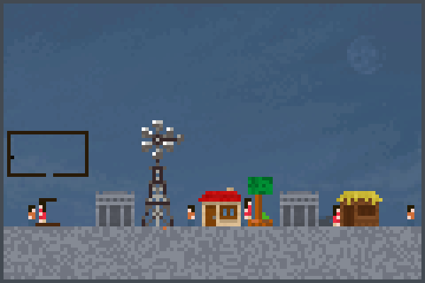 pueblo Pixel Art