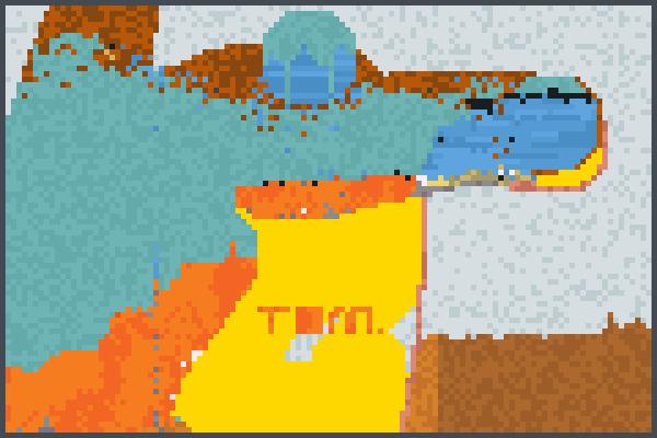 666665555555544 Pixel Art