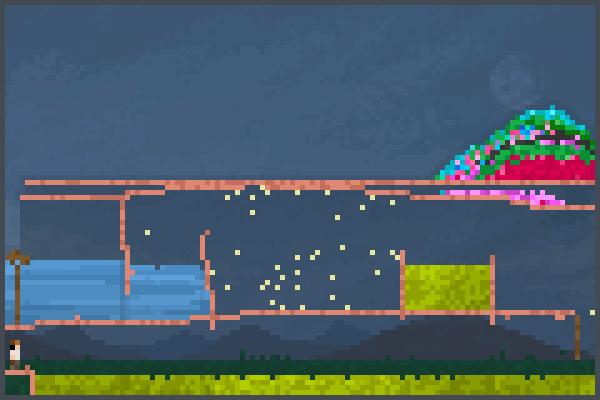parkour trainin Pixel Art