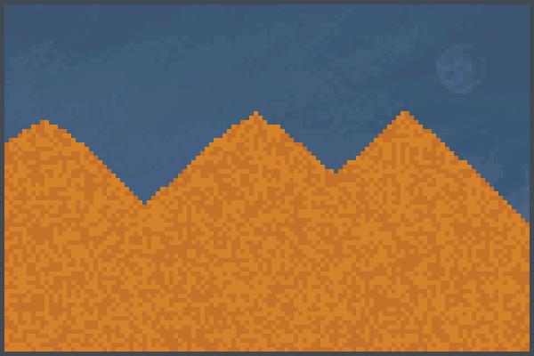 El sahara Pixel Art