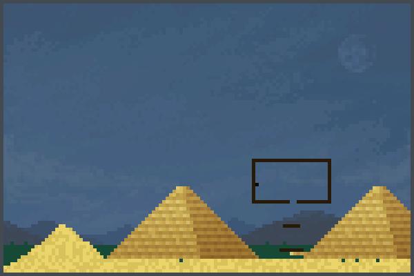 el desirto 2 Pixel Art