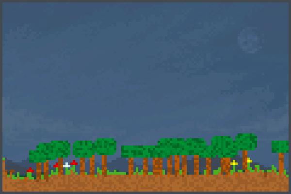The woods sm. Pixel Art