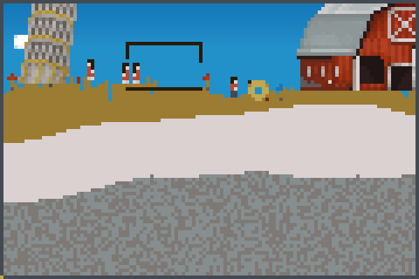 A little city.. Pixel Art