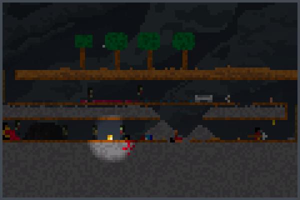 Virginia mine Pixel Art