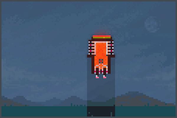 Tank robot bran Pixel Art