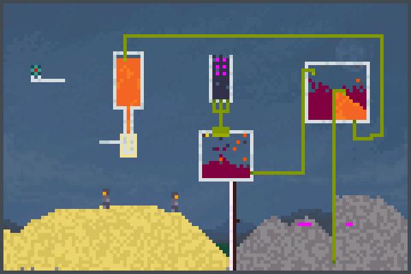 Kill robots.) Pixel Art