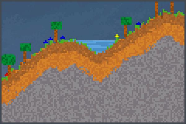 earth V1 Pixel Art