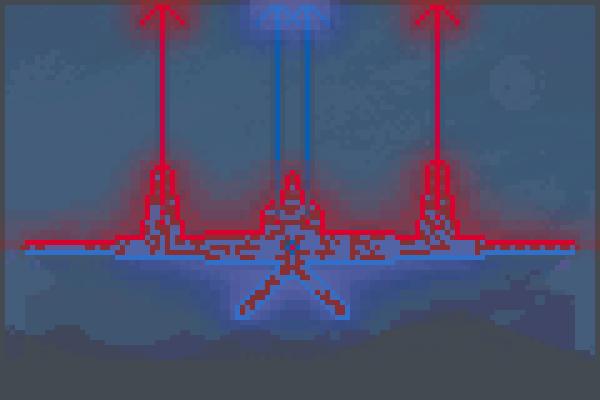 Bmothership Pixel Art