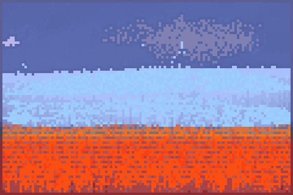 Lava thingyy Pixel Art