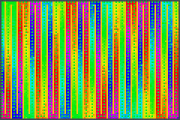 Bunter Pixel Art
