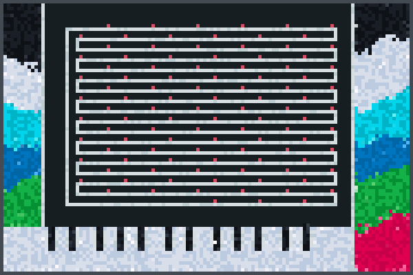 la obra de Theo Pixel Art