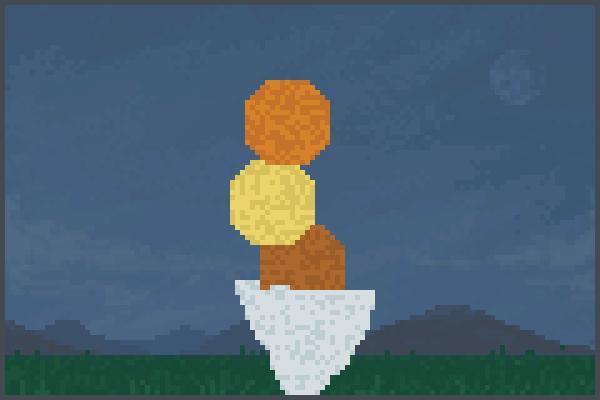 helado . Pixel Art