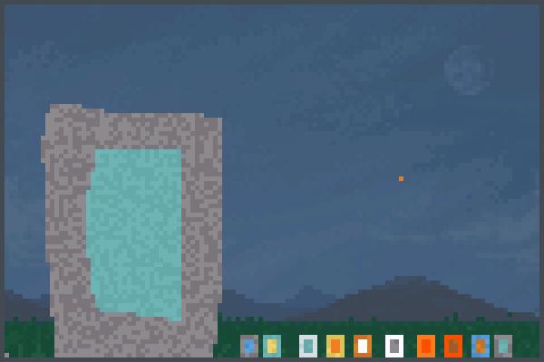 portales Pixel Art