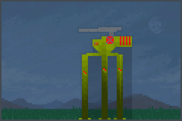 boss mach Pixel Art