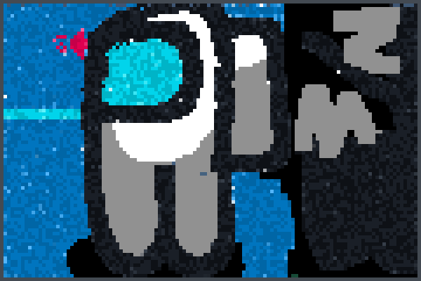 among us stuff Pixel Art