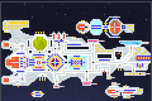 <>SpaceshiP<> Pixel Art