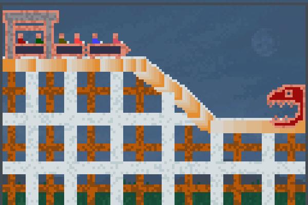 Monster Ride! Pixel Art