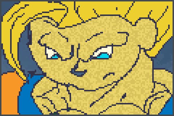 Pixel Art Gohan
