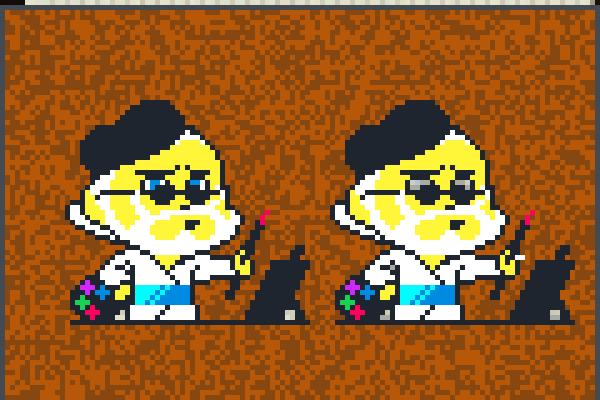the sandbox day 4 pixel art
