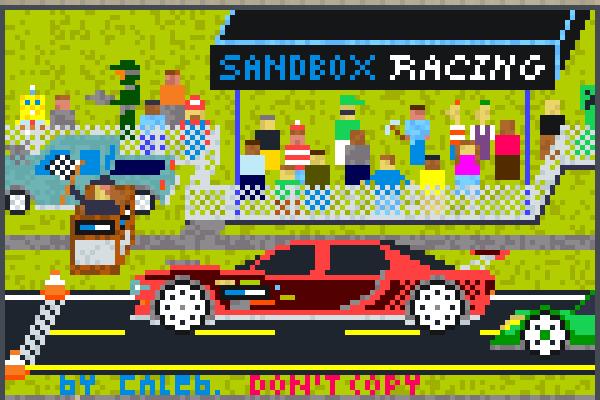 SANDBOX RACING Pixel Art