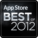 Nominated in iTunes BEST OF Apps 2012