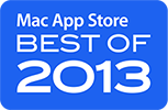 Nominated in Mac App Store BEST OF Games 2013