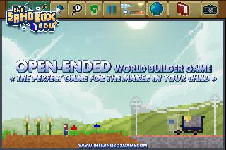 Open-Ended world builder game