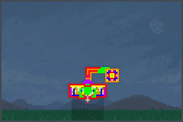 lazer power led Pixel Art