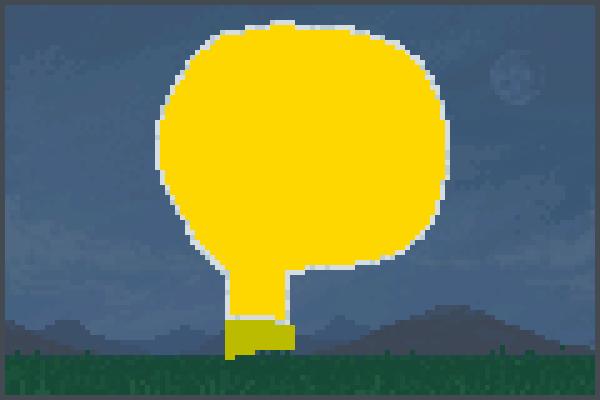 Da LightBulb Pixel Art