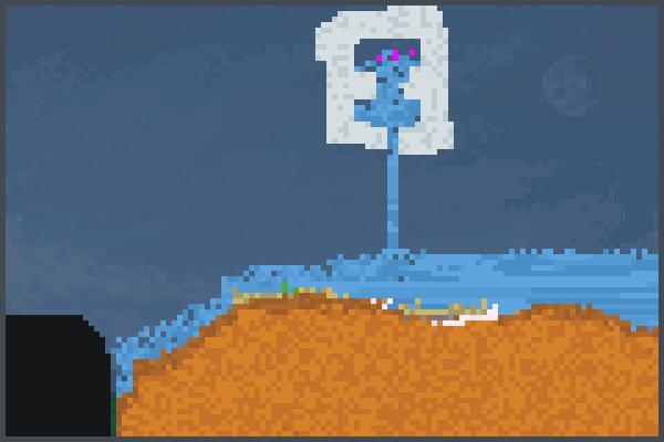 gera agua Pixel Art