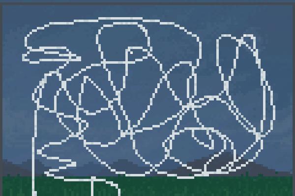 crazy e rllcstr Pixel Art