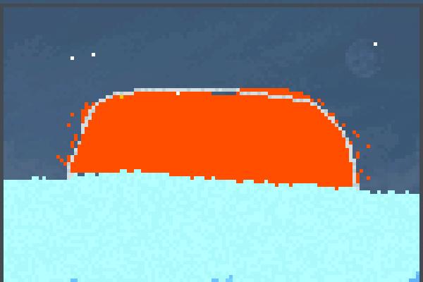 warm room Pixel Art